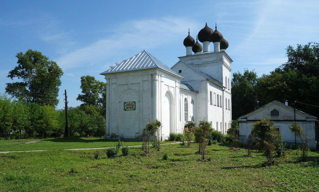 краеведческий музей, бывший храм кнц 19 века