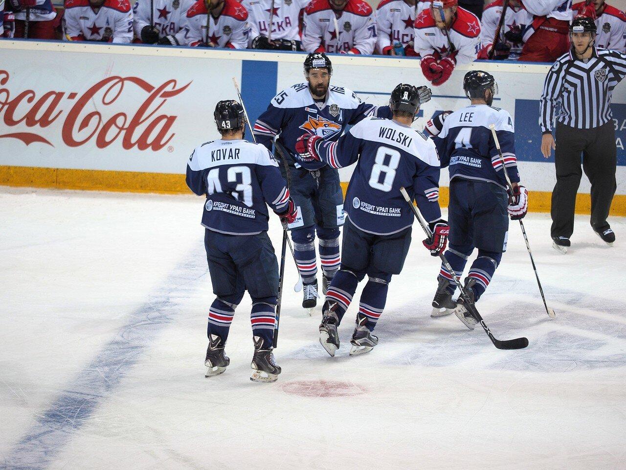 76Плей-офф 2016 Финал Металлург - ЦСКА 11.04.2016