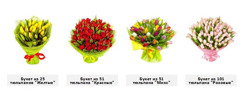 Заказ и доставка тюльпанов в Твери на Mr Flowers