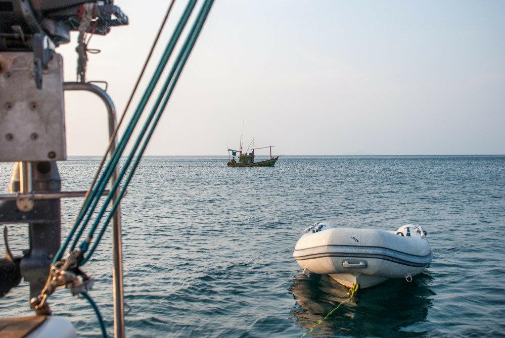 На яхте в Паттайе