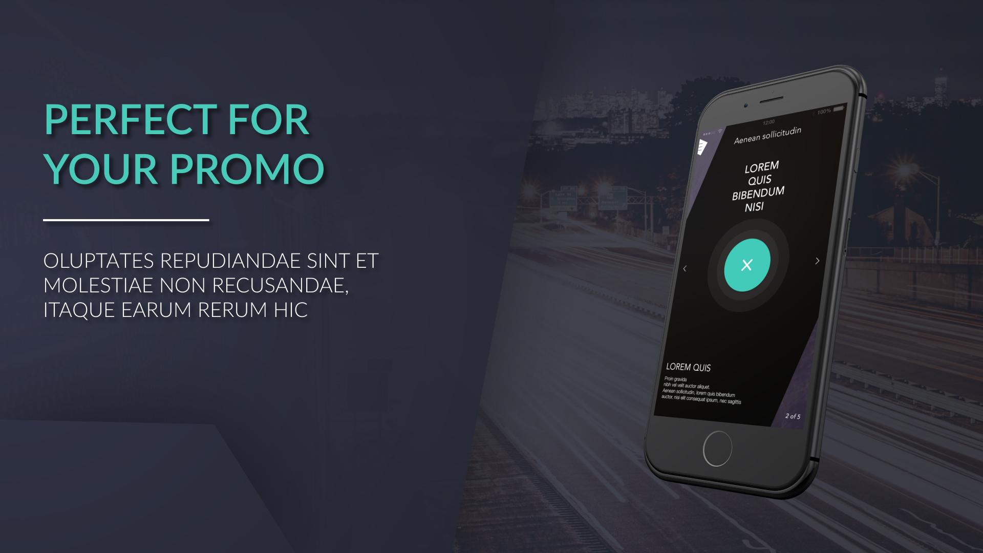 iphone web app promo mobile after effects templates f5. Black Bedroom Furniture Sets. Home Design Ideas
