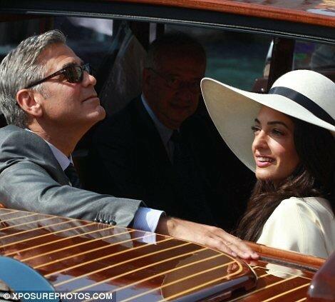 Официальные фотографии свадьбы Джорджа Клуни и Амаль Аламуддин