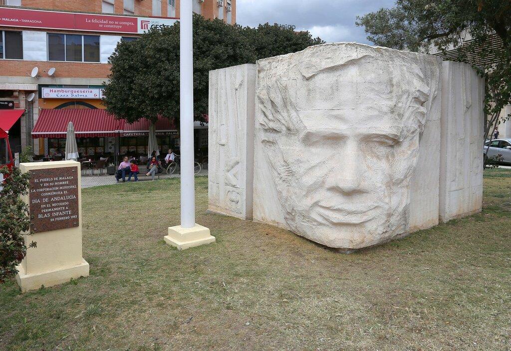 Малага. Памятник Бласу Инфанте (Blas Infante Pérez de Vargas)