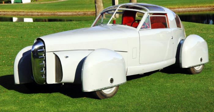 Tasco – забавный автомобиль из 1948 года. Невероятно забавный автомобиль Tasco сконструировали