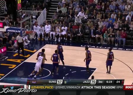 «Финикс Санз» победил «Юту Джаз» впредсезонном матче НБА
