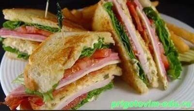 Слоеные сандвичи