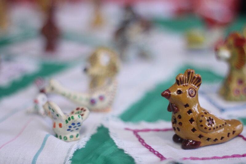 Выставка глиняной игрушки, Саратов, центр народного творчества Лидии Руслановой, 01 ноября 2016 года
