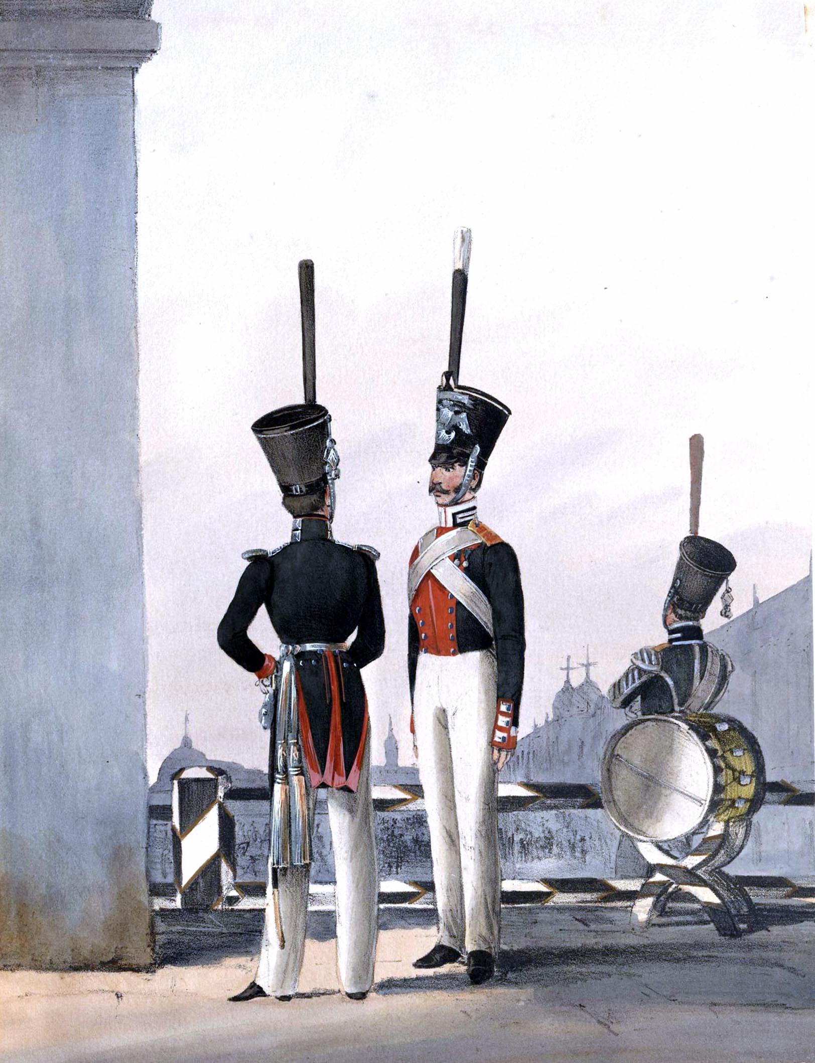 022. Kaiserthum Russland Garde-Grenadier-Regiment König von Preußen / Российская империя