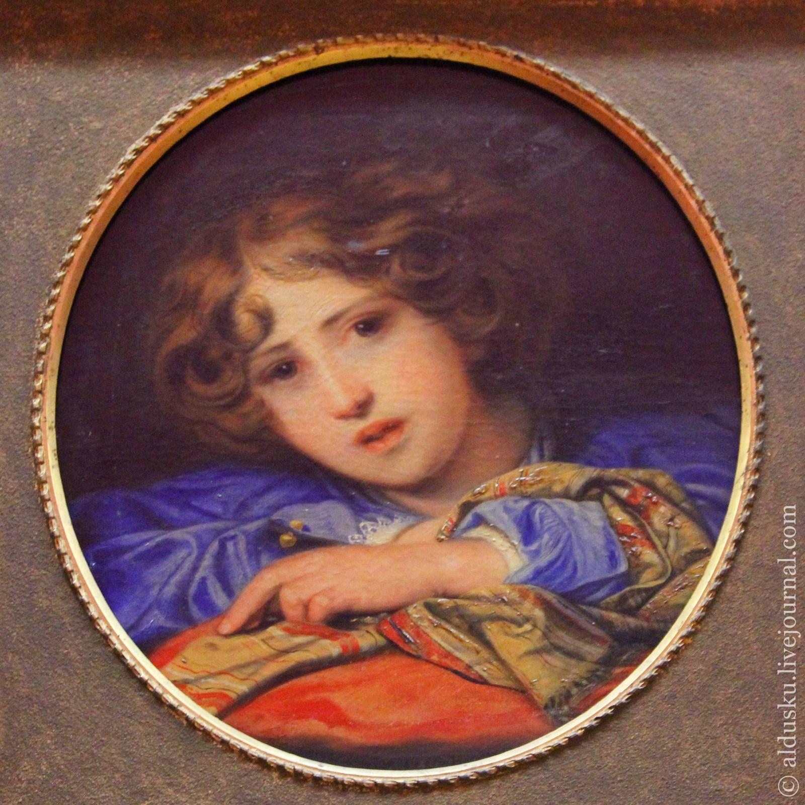 Бруни Ф.А (1801–1875) Портрет сына. Конец 1840–начало 1850-х. Холст, масло