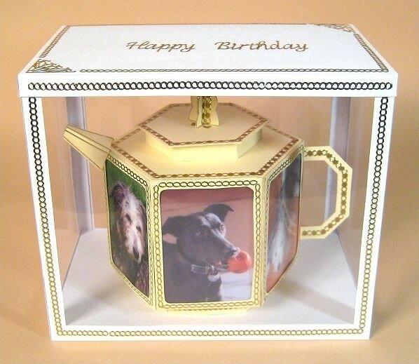 Бумажный чайник