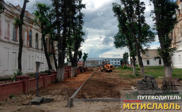 Работы в городе: начало августа 2016