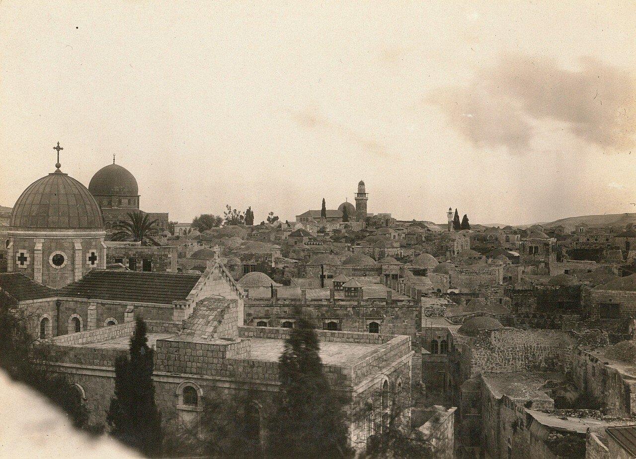 Иерусалим. Вид из гостиницы на город