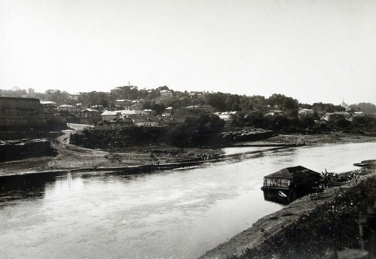 Вид на Казанскую гору. 1901