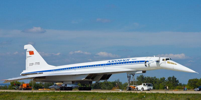 В целом Ту-144 получился на 4