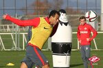 Тренировка Спартака на сборе в Турции