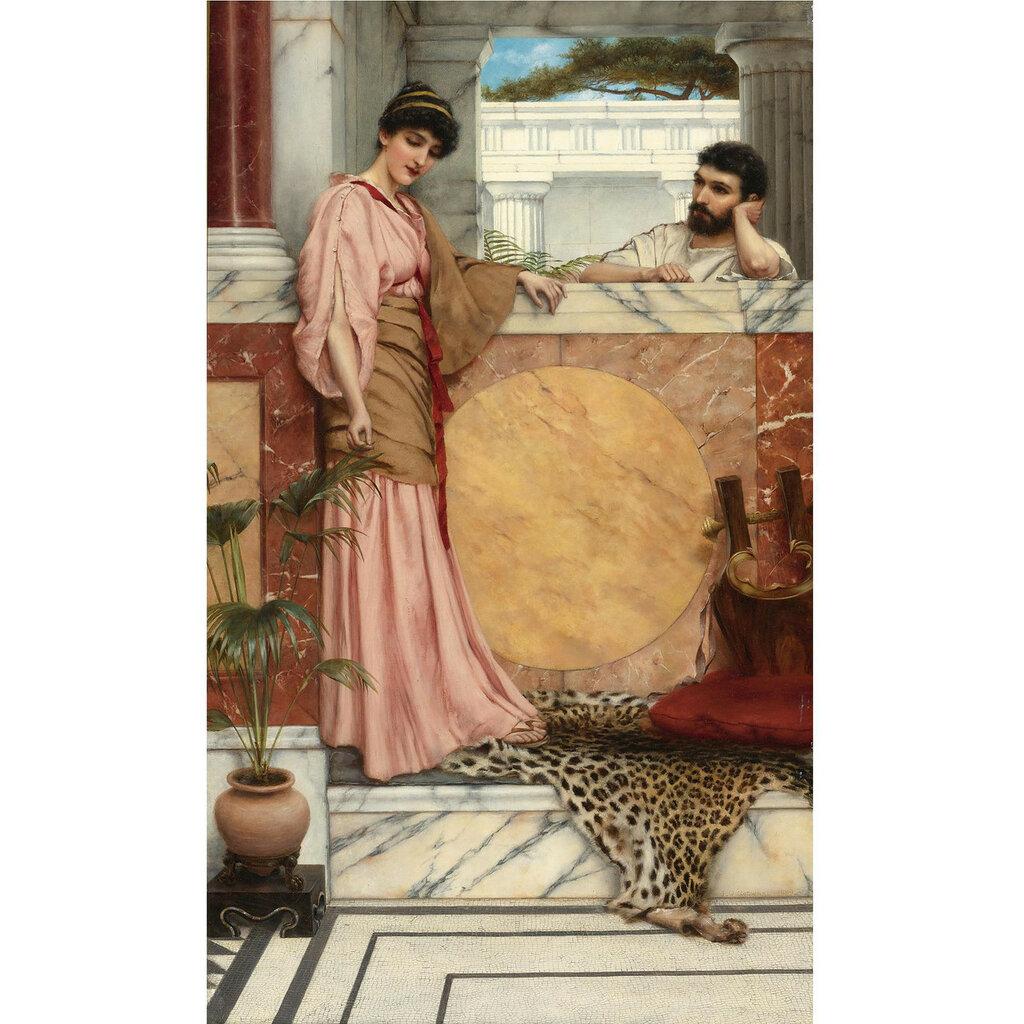 1889_Ожидание ответа (возможно, автопортрет) (61 х 35.6 см) (ч.с.).jpg