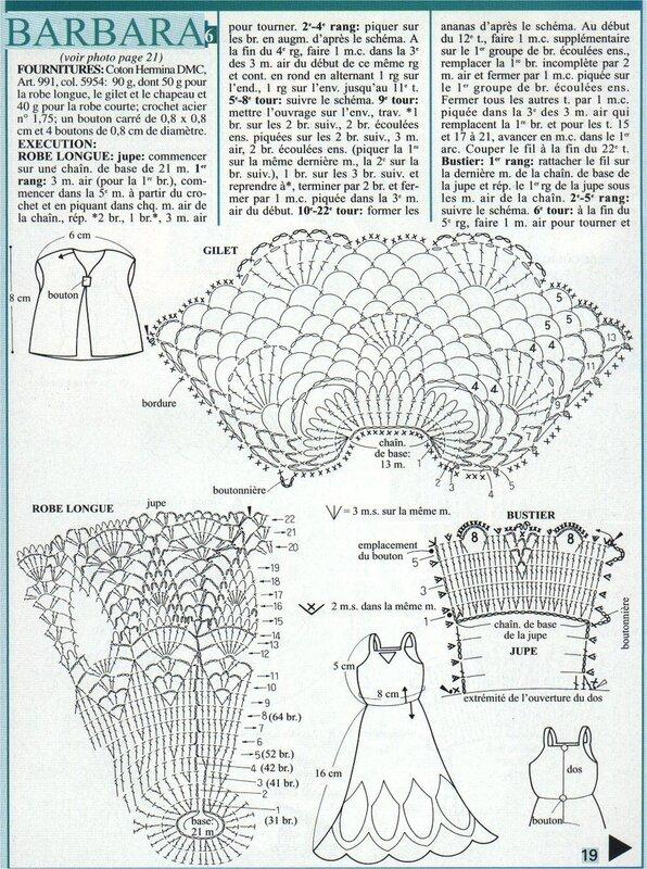 Схемка вязания крючком