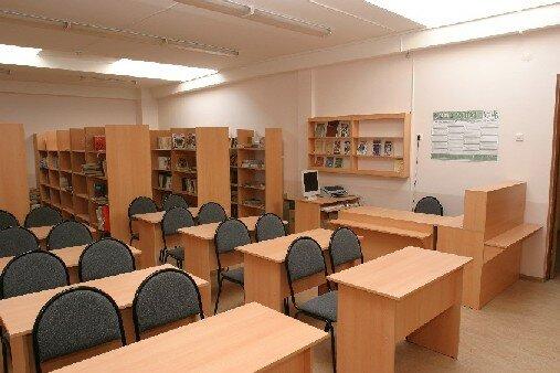 Мебель для школьной библиотеки фото
