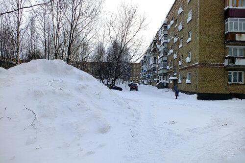 Фото города Инта №7481  Северо-восточный угол Воркутинской 2 18.02.2015_14:38