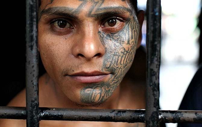 Члены МС-13 — выходцы из самых бедных и маргинализированных слоев общества Сальвадора. Все они покры
