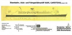 Журнал Karl Carstens 1986 (Deutsches Schiffahrtsmuseum)