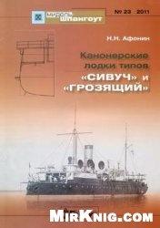 """Канонерские лодки типов """"Сивуч"""" и """"Грозящий"""" (Мидель-Шпангоут 23)"""