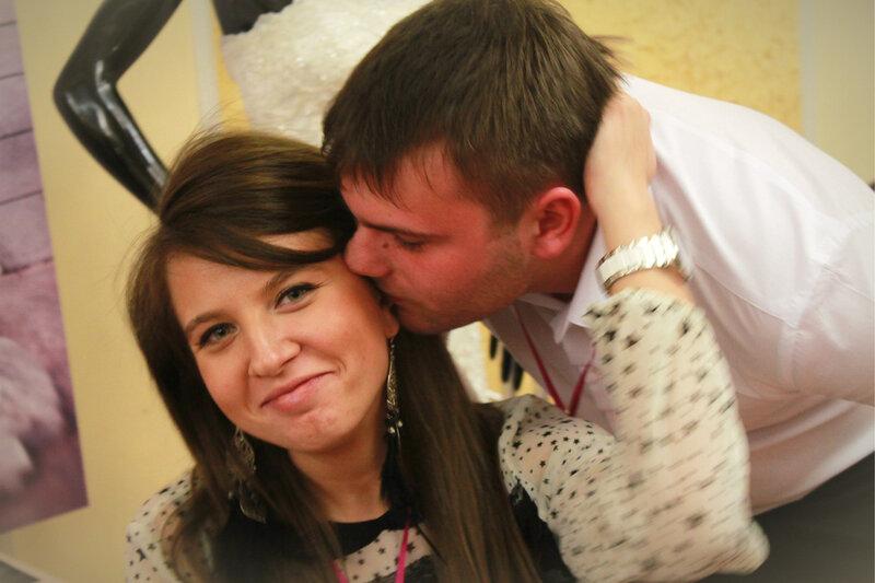 Выставка свадебной фотографии и видеографии 'Just Married', Саратов, 1 апреля 2012 года