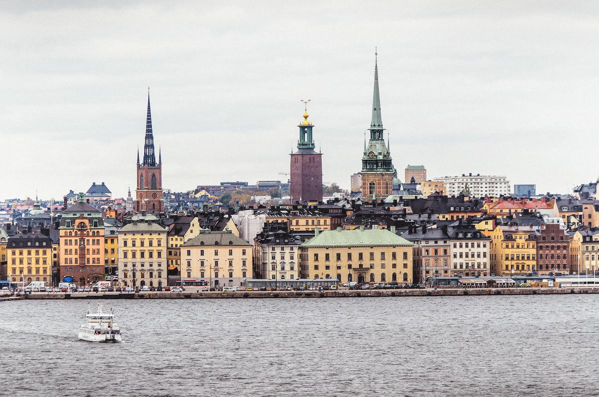 В Стокгольм на пароме