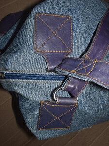 Крепление ручек к сумке