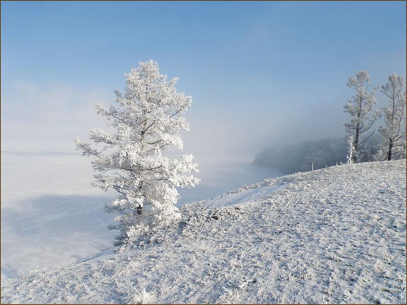 Байкал утром