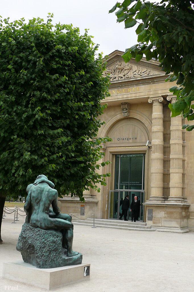 Сад Тюильри. музей