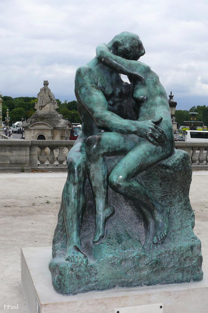 скульптура Родена в Саду Тюильри