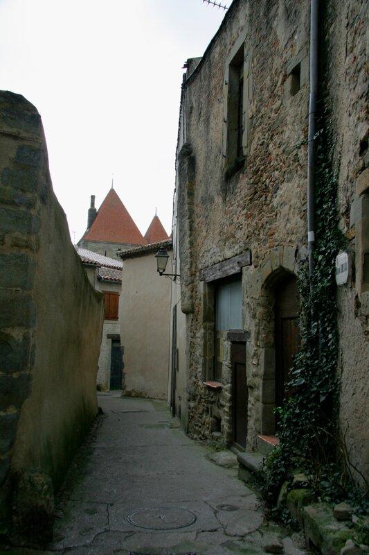 Улочка в крепости Каркасон