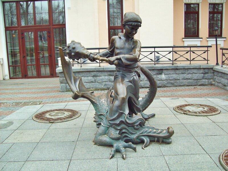 Скульптура Котигорошек