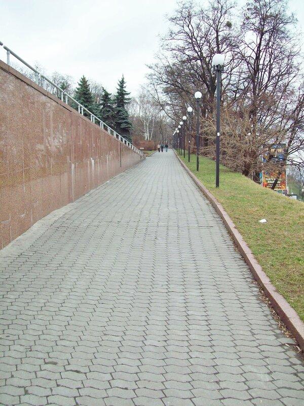 Вход на Владимирскую горку