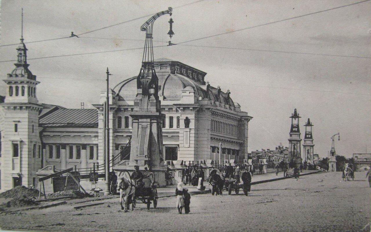 Брестский вокзал. Виадук