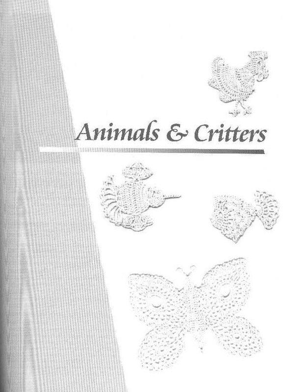 Вязание крючком. Для любителей ирландских кружев. В книге всего понемногу: цветочки, животные, элементы декора и прочие милые безделушки.