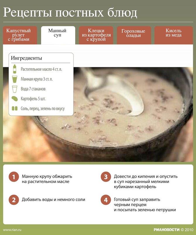 Постные блюда без растительного масла рецепты