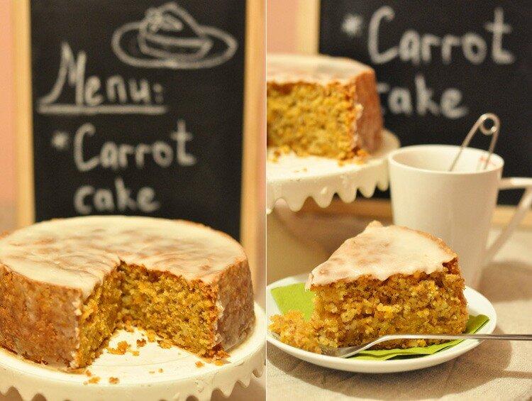 Морковный пирог , невероятно вкусный