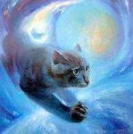 лунный кот (худ. Буданов Валерий Викторович)