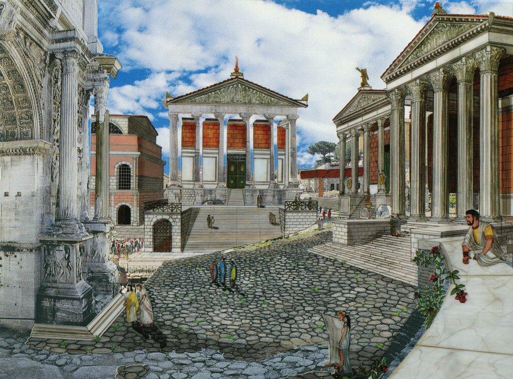 Римский Форум (реконструкция).