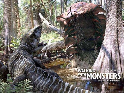 BBC: Прогулки с Монстрами / Walking With Monsters | Смотреть онлайн / Скачать  (документальное видео)(bbc)