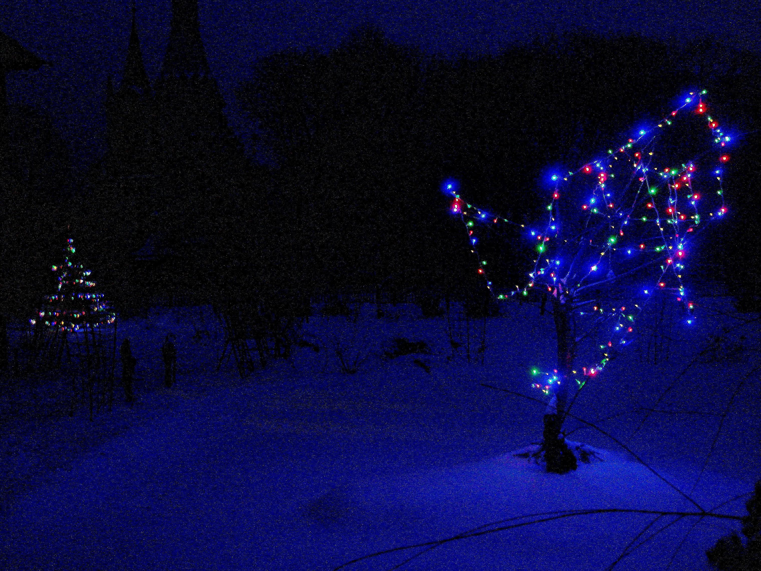 Зима,с.Остров,подворье,праздники