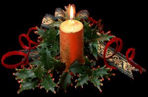 Клипарт Новогодний-Свечи