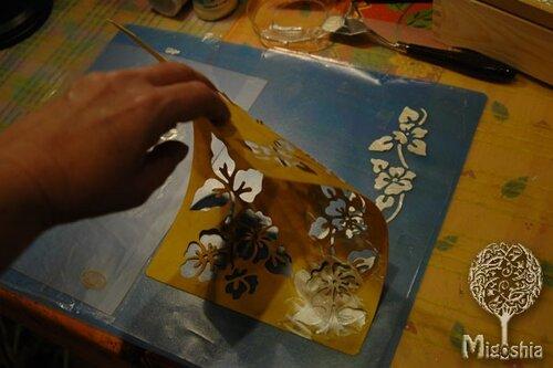 3D трафарет Migoshia