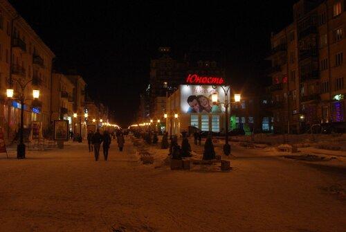 Самара, зима, Ленинградская