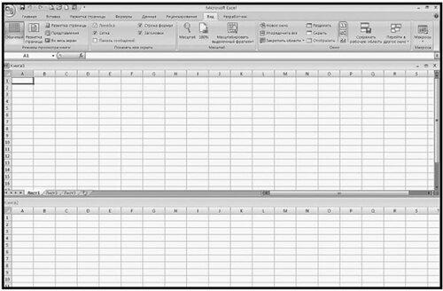 Рис. 2.11. Окно программы с двумя открытыми окнами книг