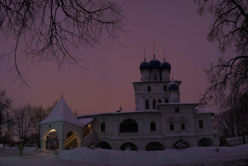 Коломенское. Храм Казанской иконы Божией Матери