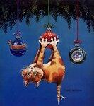новогодние открытки 33