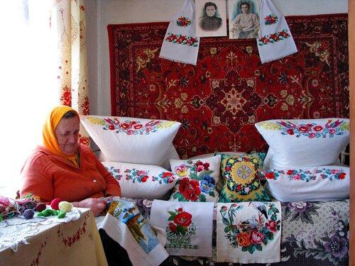 Вышиванки бабы Вали